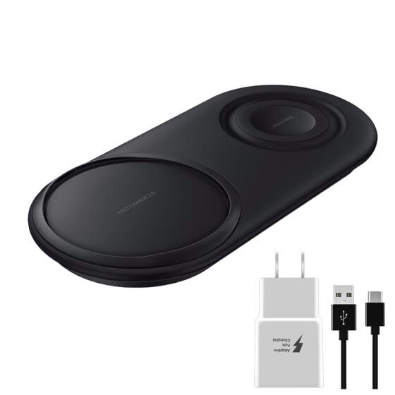 2in1 Fast Charging Wireless Charger Pad For Samsung Galaxy Note10+/10/Watch S3/4