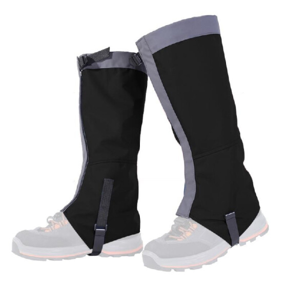 Hiking Camping Waterproof High Legging Gaiter Guard Leg Protection Cover Outdoor
