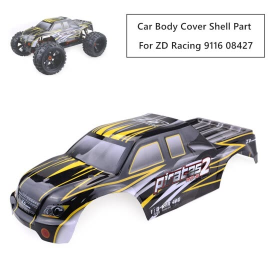 Car Body Cover Shell Part For ZD-Racing 9116 08427 1/8 Off-road Buggy RC Car