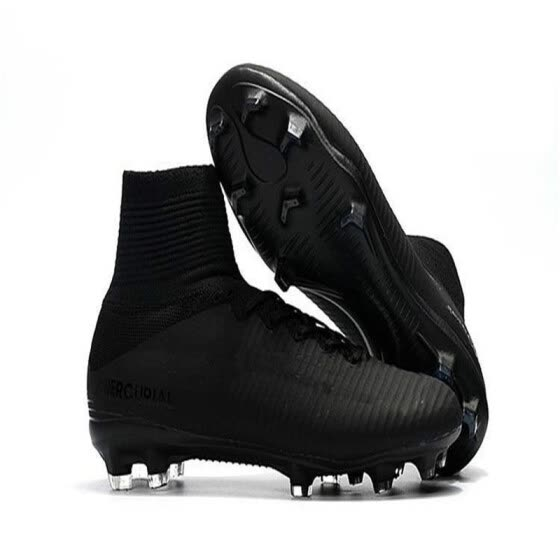 wholesale dealer 48ed0 01af9 Shop 2018 Original Black CR7 Football Boots Mercurial ...