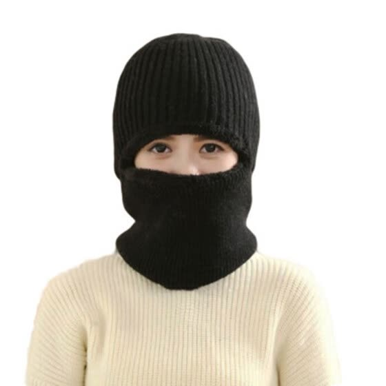 Winter Men Women Warm Beanie Cap Wool Knit Snow Hat Scarf Balaclava Item Latest