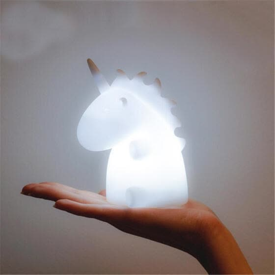 Bluelans Lovely Unicorn Animal Light Christmas Night Home Decor Party Gift for Kids