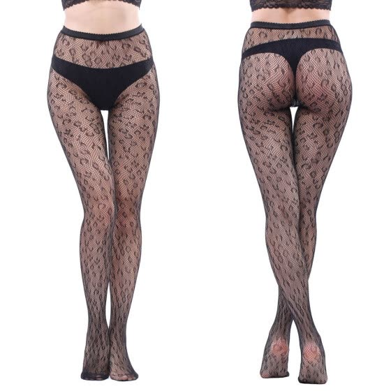 Women Sexy Fishnet Soft Tights Lingerie Transparent Erotic Lace Bodysuit