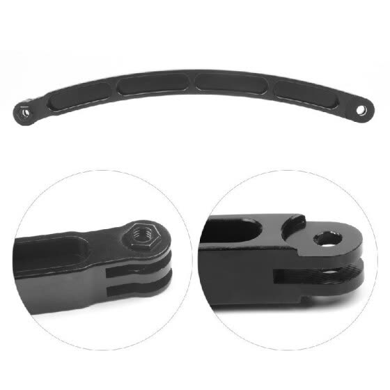 CNC Aluminum Alloy Helmet Stick Extension Arm Mount for GoPro Hero 7 5 6 4 for Xiaomi Yi for SJCAM SJ4000 for EKEN H9 Sport Camera