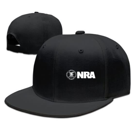 86eacf53 Shop Adjustable Plain Hat Flat Brim Hat Unisex/Men/Women - NRA ...