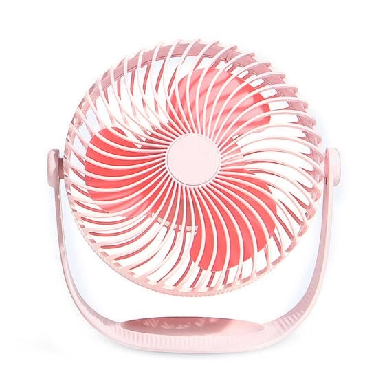 Portable USB Charging Fan 360 Degree Rotating Cooling Fans Home Air Cooler