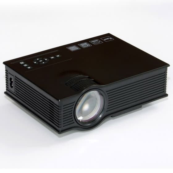 UC40+ HD 1080P Home Cinema Mini Projector HDMI AV USB VGA SD LED Projector
