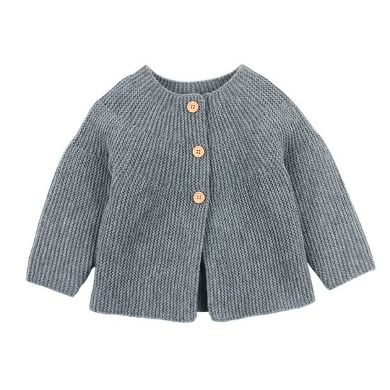 Baby Boys Girls Knit Cardigan Winter Warm Newborn Infant Sweaters Outfits Fashion Long Sleeve Hooded Coat Jacket Kids Clothing
