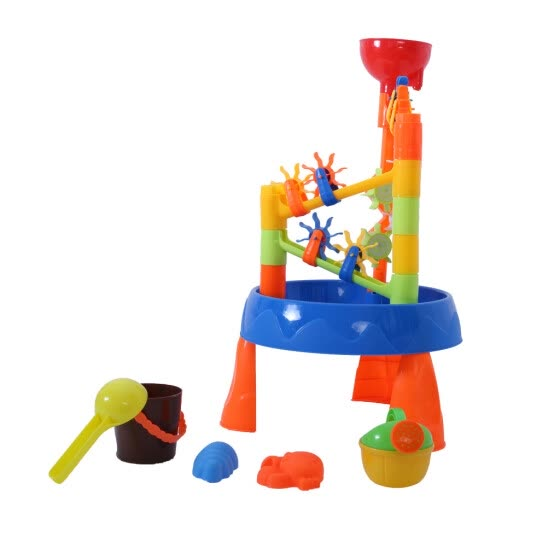 Children Summer Beach Water Windmill Digging Sandglass Tool