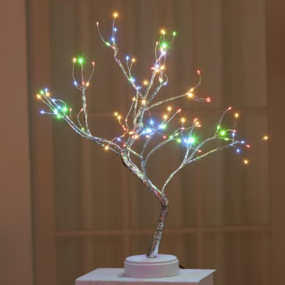 Shop 36 Leds Night Light Bonsai Tree Light Gypsophila Lights Home Party Wedding Indoor Decoration Night Light Online From Best Lights Lanterns On Jd Com Global Site Joybuy Com
