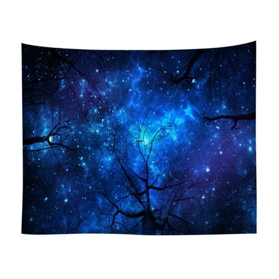 New Digital Printing Tapestry/Mural/Beach Towel Tree Star Series Multi-purpose Tapestry or wall hanging for living room
