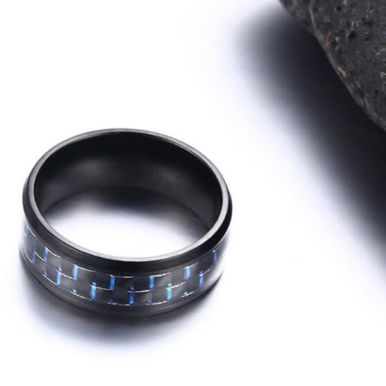 New Stainless Steel Ring Titanium Silver Black Gold Men SZ 7-12 Wedding Blue 11