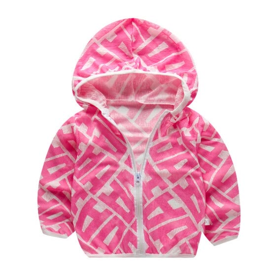Livs girl Autumn Kids Outerwear 1Y-7Y Girl Boy Coats Floral Print Casual Hoodie Zipper Sweatshirt Kids Outfits Tops 8 Colors