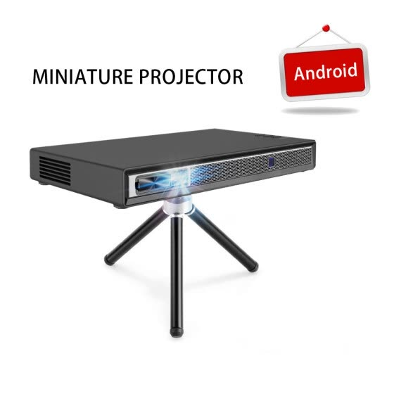 Mini Projector T5 2019 New Upgrade Android 6.0 Support 1080P 4K HDMI 3D DLP-Link