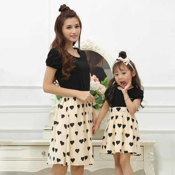 de2a513b5a5 Family matching mother daughter mommy and me clothes family look girls  korean clothing women summer dress