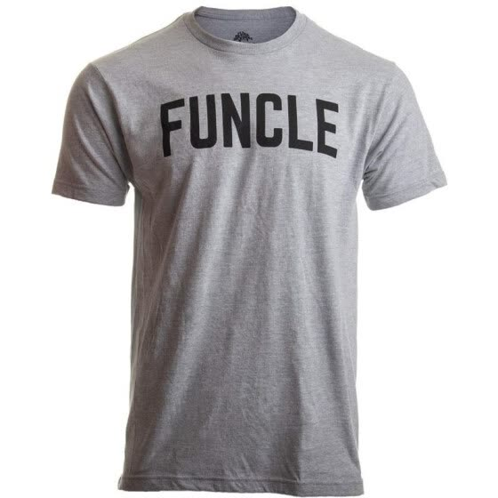34fce0476 Funcle | Fun Funny Uncle New Baby Pregnancy Maternity Niece Nephew Men T- Shirt