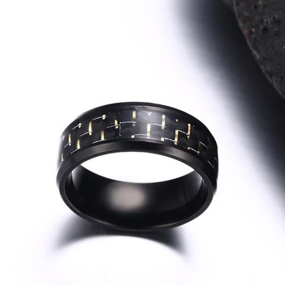 New Stainless Steel Ring Titanium Silver Black Gold Men SZ 7-12 Wedding Yellow 9