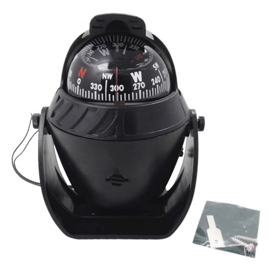 LED Light Digital Compass Magnetic Sphere Marine Military Electronic Boat For Marine Boat Car