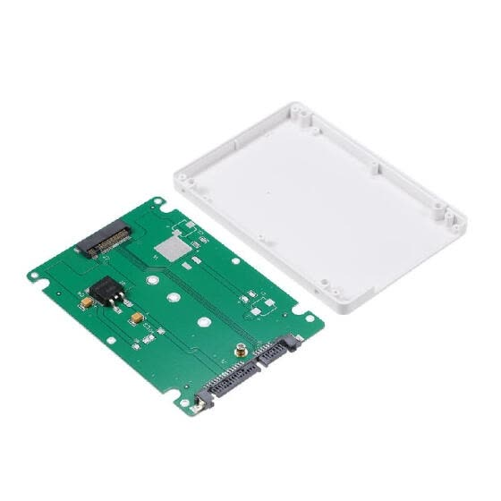 NGFF M.2 SSD to 22Pin SATA III Converter Adapter with 2.5'' Enclosure 2280 2260 2242 2230 SSD