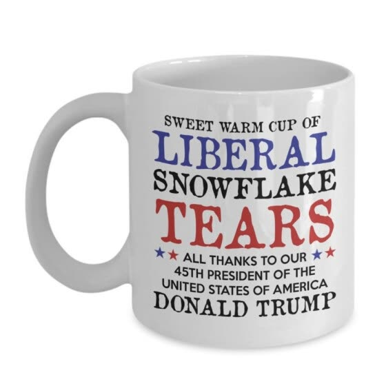 Trump Coffee Mug Trump Pence Keep America Great! MAGA Republican Conservative Gift Red Handle Ceramic Coffee Mug Tea Cup