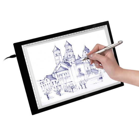 Tracing Light Box A4 LED Tracer Pad//Box//Board For Artists Drawing Sketching A