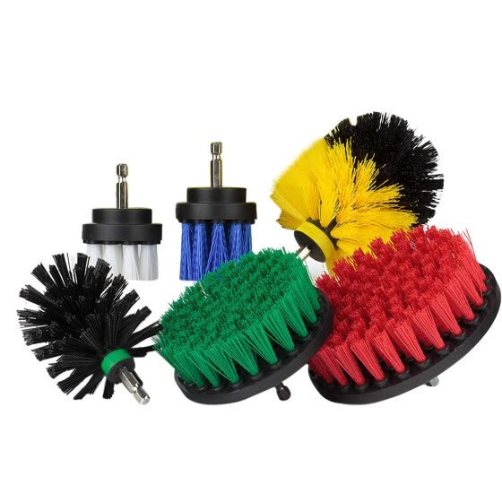 Cleaning 6Pcs Grout Power Scrubber Cleaning Brush Cleaner Combo Tool Kit