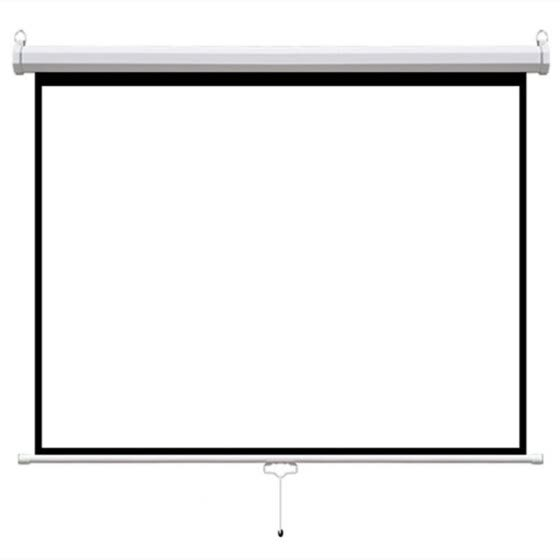 "120"" Manual Economy Pull down projection projector screen for home theater and business prensentation"