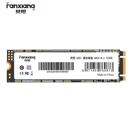 FANXIANG 512GB SSD SSD M.2 interface (SATA bus) S201 series