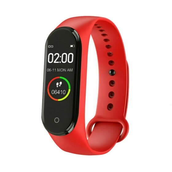 M4 Smart Bracelet Watch Band Heart Rate Blood Pressure Monitor Tracker Fitness Wristband