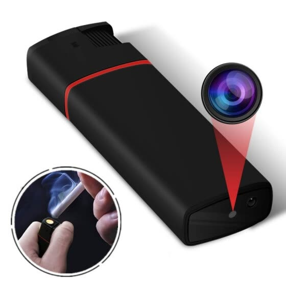 Aluoyue 1080 HD mini camera Pocket camera Lighter camera night vision function Loop recording compact and convenient to