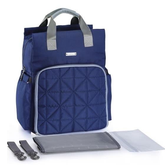 a4d69819b604 Shop Diaper Bag Backpack Multi-Function Waterproof Large Capacity ...