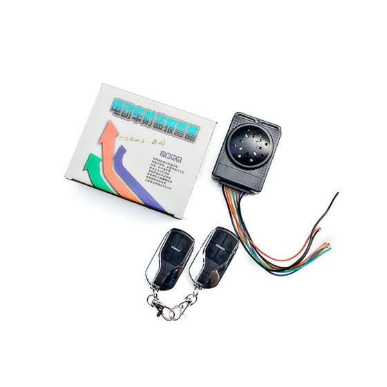 48V-72V Electric Bicycle Alarm Double Remote Lock Motor Electric for Security Bicycle Bike Accessories