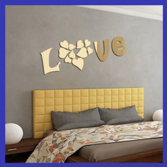 Day 3d Mirror Stickers Living Room, Wall Decor Mirror Stickers