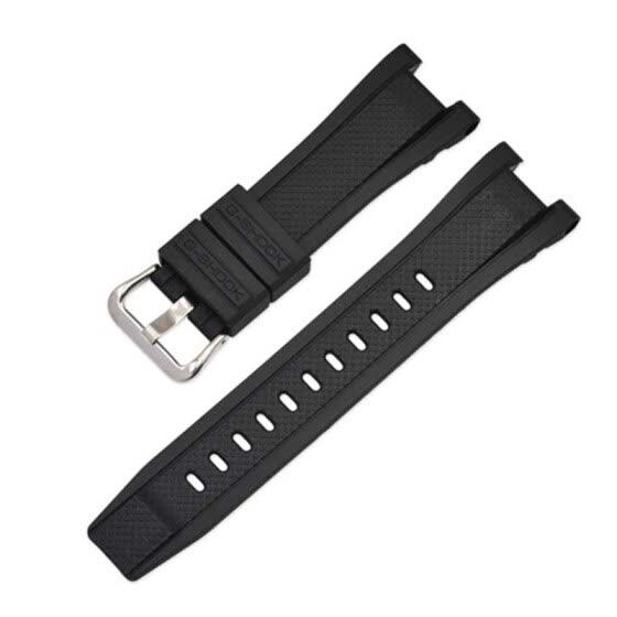 Resin Strap Men's Pin Buckle Watch Accessories Casio Bracelet Sports Waterproof Belt For GST Series Models