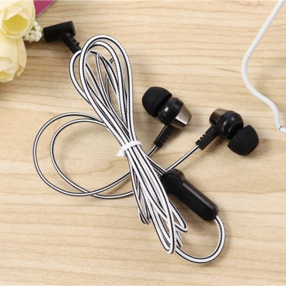 Shop Wired Earphone With Microphone 3 5mm In Ear Stereo Headsets For Computer Cell Phone For Multi Devices Online From Best Microphones On Jd Com Global Site Joybuy Com