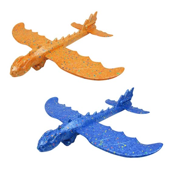 NewDesign DIY Foam E PP Handheld Aircraft Glider DIY Aircraft Toy Children's Gifts 2pcs