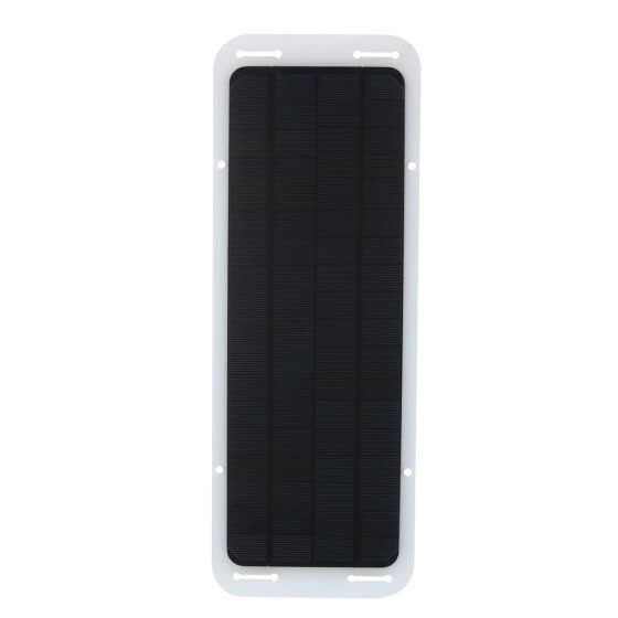 12 Volts 5 Watts Portable Power Solar Panel Battery Charger Backup For Car Boat