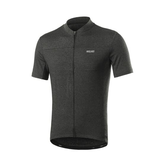 ARSUXEO Men Short Sleeve Cycling Tops Bicycle Bike Quick Drying Jersey Shirts