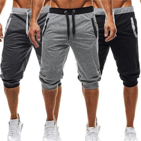 Summer Men's Baggy Jogger Casual Harem Short Slacks Pants Trousers Shorts