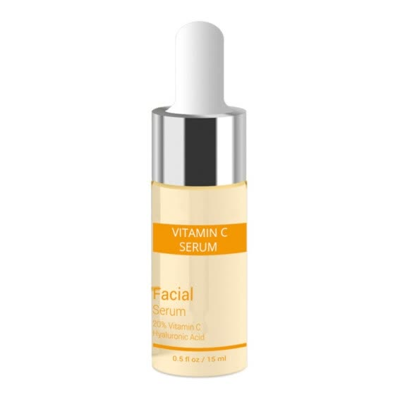 Vitamin C Serum+Six Peptides Serum 24K Gold+Hyaluronic Acid Serum Anti-Aging Moisturizing Skin Care Whitening Brighten