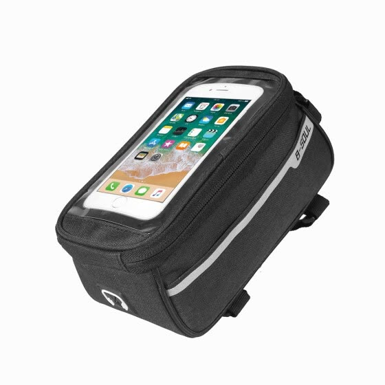 Bicycle Bag, Waterproof Touch-Screen BicycleFront Mobile Phone Frame Bag Holder