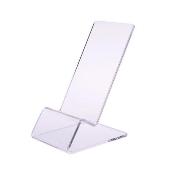 Lanhui Clear Acrylic Transparent Mobile Phone Display Stand Mount Holder Rack Bracket