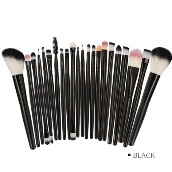 15/22pcs Foundation Brush Eyeshaow Brush Blush Brush Highlighter Brush Cosmetic Beauty Tool Kit Makeup Brushes Set