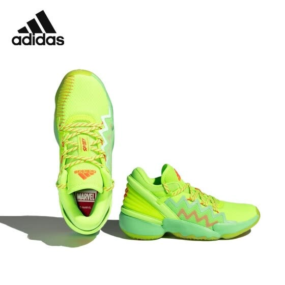 adidas Adidas 2020 spring and summer male older children's shoes FW8747 green 37 size/230mm/4.5