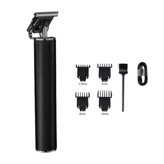 Hair Clipper Set Rechargeable Hair Trimmer With Four Limited Combs