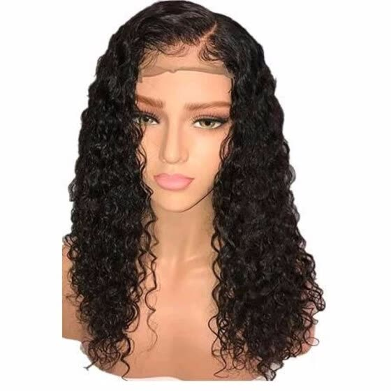 cfb3d70a2 Wet And Wavy Brazilian Full Lace Human Hair Wigs Glueless Water Wave Curly  Lace Front Wig