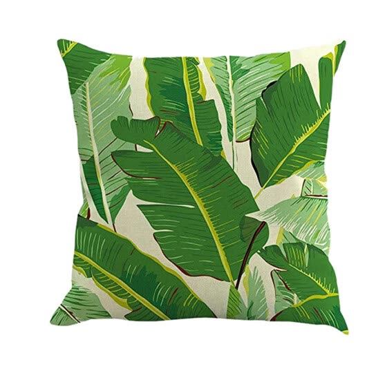 TOYFUNNY Natural Pattern Printing Dyeing Sofa Bed Home Decor Pillow Cover Cushion Cover
