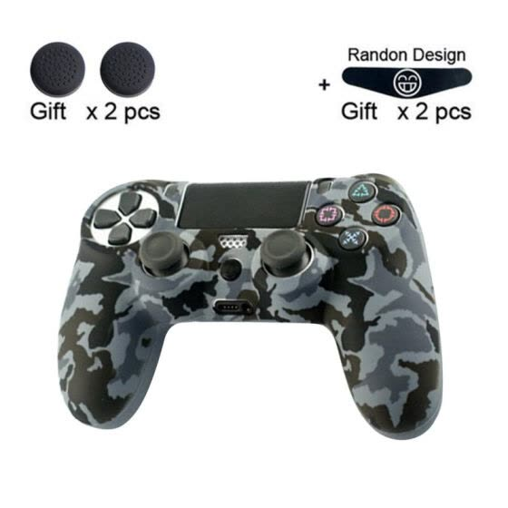 Soft Silicone Gel Rubber Case Cover For SONY Playstation 4 PS4 Controller Protection Case For PS4 Pro Slim Gamepad