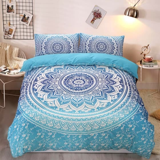 2/3pcs Bed Sets European Lines Bedding Set Queen Double Bed Size Bedclothes Comforter/Duvet/Quilt Cover Sheet Pillowcase Bed Sets