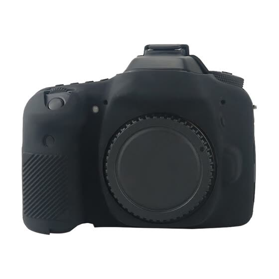 Soft Rubber Silicone Pele Case Skin Body Cover For Canon 80D Camera Buffer Bag